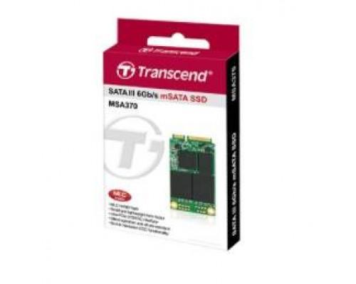 Твердотельный диск 128GB Transcend MSA370, mSATA, SATA III [ R/W - 470/570 MB/s]
